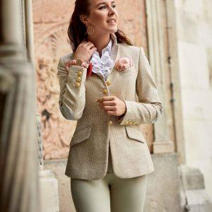 Jacke Florenz Tweed marmor