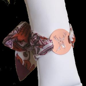 Amulett-Armband in Winterbeere