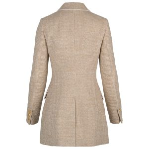 Kurzmantel Paris Tweed marmor
