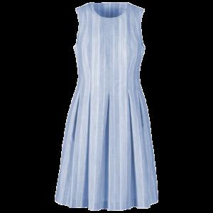 Kleid Saint Tropez Baumwoll Streif lagune